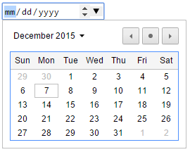 "HTML5: Thẻ input type=""date"""